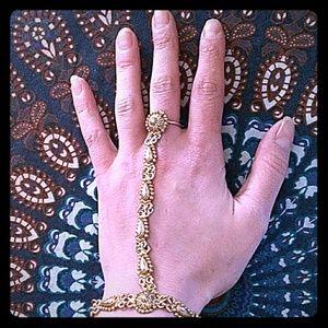 Vanessa Mooney wrist to ring bracelet